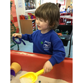 Simon finds and recognises the number from 1 to 9