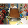 Baked sticky toffee pudding - delicious!