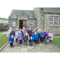 We visited the old school in the Pit Village.
