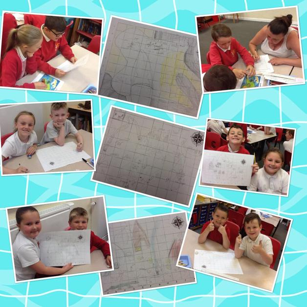Designing our own treasure maps