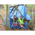 Look ard Danny's and Milly's tripod shelter.