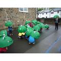 Frog dance