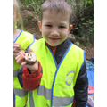 A forest school medal