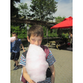 Candy floss - as big as your head!
