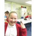 Lauren shows a reversible change.