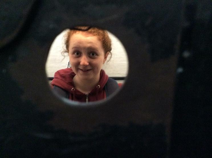 Maddi in prison!