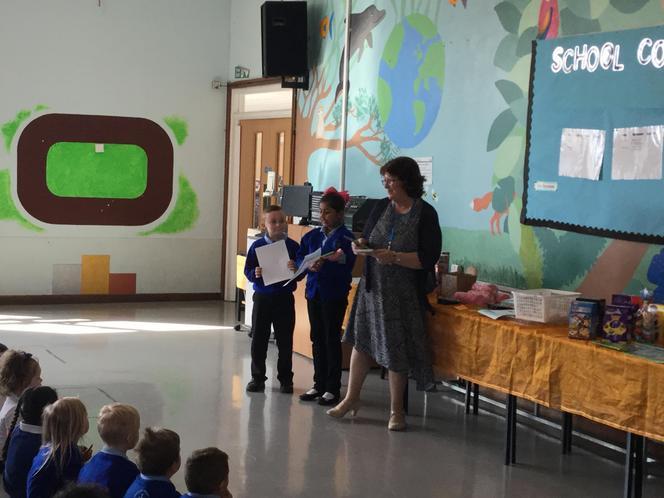 Priya and Logan - Lunchtime awards