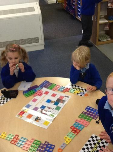 Playing the Addition Board Game!