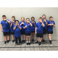 Gold medals - we won!