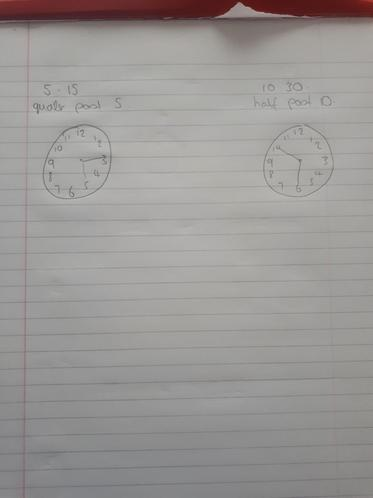 Kian's great drawing of the time!
