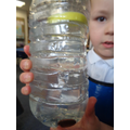 Joshua has been investigating floating and sinking