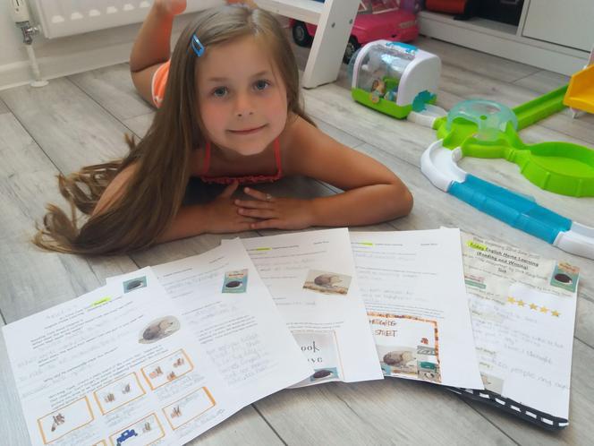 Amelia's fabulous English and reading learning!