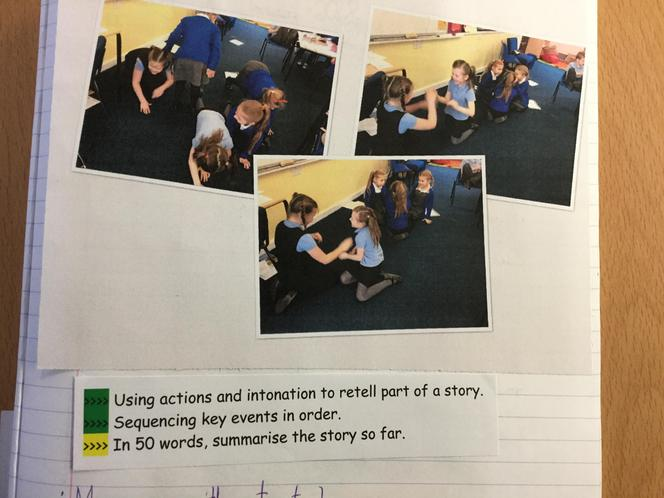 Retelling through drama