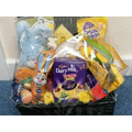 Easter Hamper with lots of goodies waiting to be won.