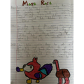 Brody's Maze Race story, well done!