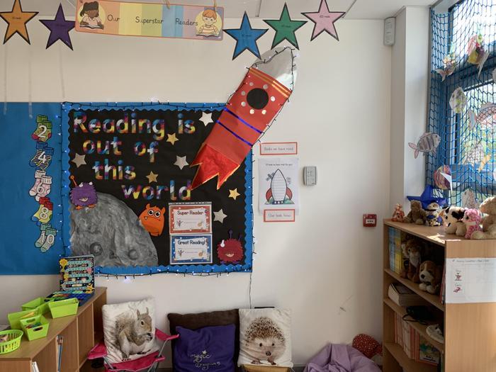 1C Reading Area.