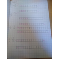 Eleanor is working so hard in maths