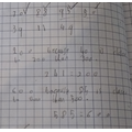 Lucas has used his reasoning skills for his maths work.