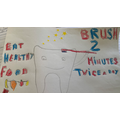 Harry made a superb poster for PSHE