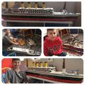 A SCALE MODEL TITANIC! 1.25 METRES LONG! 0_0