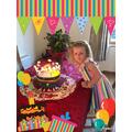 Happy Birthday. It looks like you had fun!
