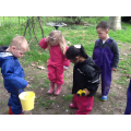 Then we found a snail...
