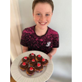 He's basically a qualified pastry chef by now!