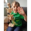 A super 3D skeleton model!