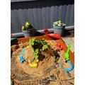 A lovely sand sculpture!
