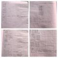An amazing range of Joshua's maths learning, keep it up!
