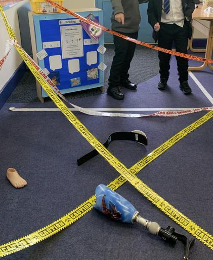 Pupils act as investigators.