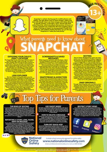 Snapchat Parents Guide