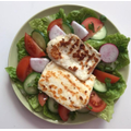 Grilled Halloumi with salad
