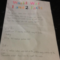 Awesome homework from a super keen learner in 6L!