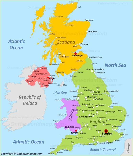 United Kingdom / UK / Great Britain