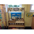 Our nursery writing area