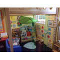 Our nursery book area