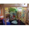 Our nursery book area