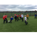 Our MUGA means we can play football most days