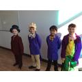 Wonderful Willy Wonkas!