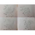 The results of our Quentin Blake draw-along