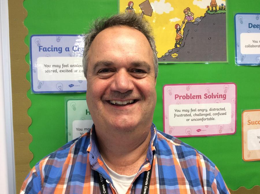 Mr Causon teaches a Year 4 class.