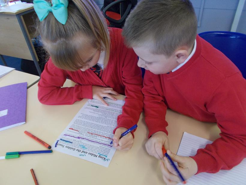 They enjoyed reading different Myths and Legends.