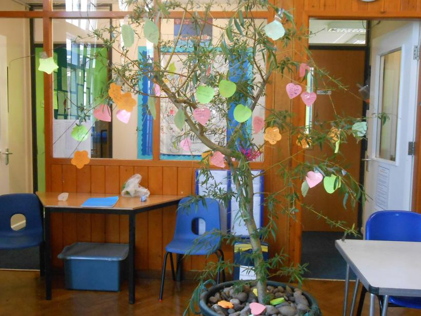 Our tree of hopes and wishes