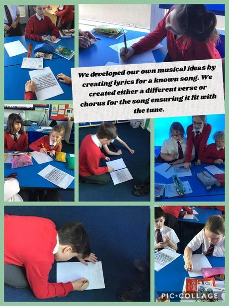 Year 6 music linked to their Victorian topic