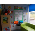 Reading corner - Class 1