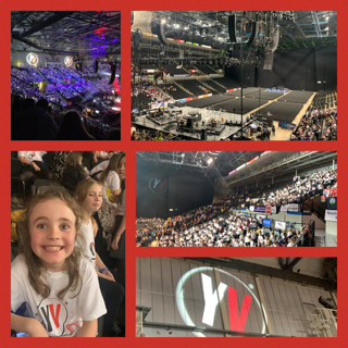 Young Voices -  Our Families came to watch