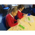 Y4/5 making parachutes