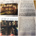 Y6 writing - The Alchemist's machine