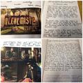 Y6 writing - The Alchemist's machine